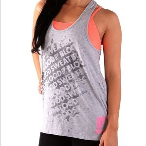 Iron Fist Blood & Sweat Reactive Tank Gray